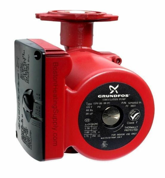 34 GPM 3 speed Circulating Pump use with outdoor furnaces hot water heat solar