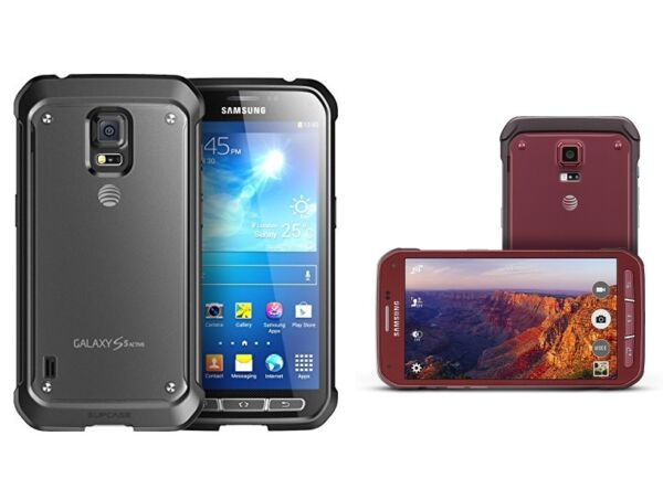 Samsung Galaxy S5 Active SM-G870A r Unlocked Smartphone Cell Phone AT