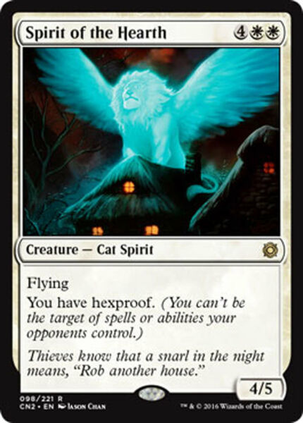 Spirit of the Hearth RARE  Conspiracy: Take the Crown MTG MINT UNPLAYED