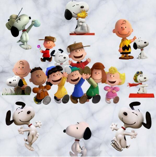 NEW Snoopy Peanuts Removable Wall Stickers Decal Kids Home Decor US seller $12.59