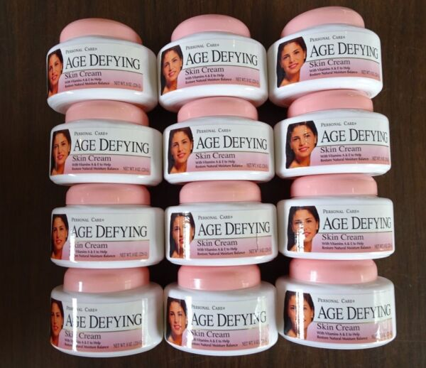 New  - Personal Care AGE DEFYING Skin Cream - 12 of the 8 OZ  Exp. 3/2017