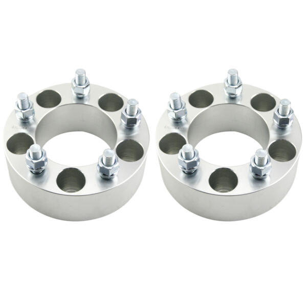 2 2quot; Wheel Spacers Adapters 5x4.75 12x1.5 Studs for Chevy Camaro Corvette S10 $51.46