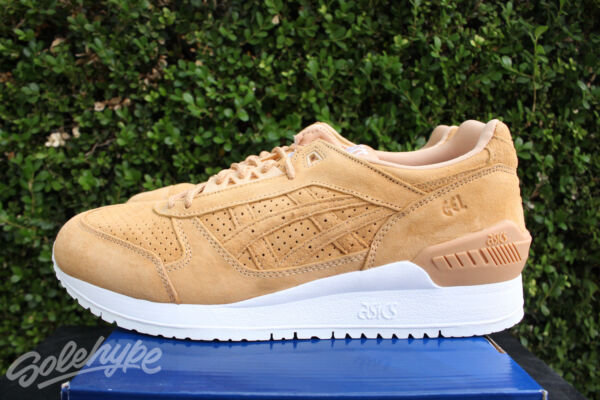 ASICS GEL RESPECTOR SZ 8.5 CLAY WHITE GREY H6V0L 9797