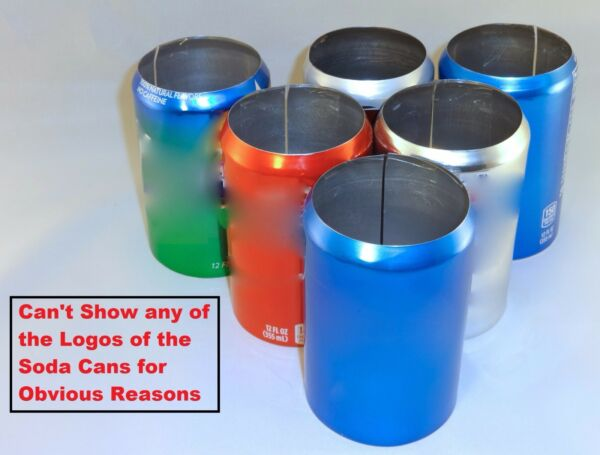 6 pack of 12 oz Beer Soda Can Covers Misc Brands & Colors Sleeve Wrap Camo Golf