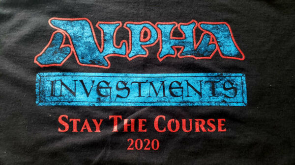 YouTube - Alpha Investments Branded T-Shirts Logo - Rudy The Magic Guy YouTube $24.99