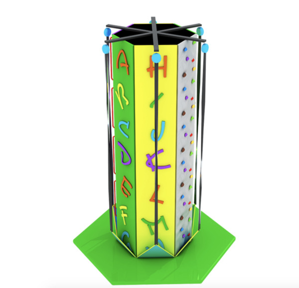 6 sided 35' Rock Climbing Wall Commercial Indoor Fitnass Equipment We Finance
