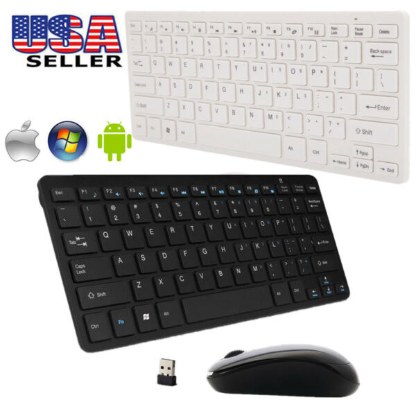 Add 2.4G DPI Wireless Keyboard And Optical Mouse To Your Purchase For Desktop PC