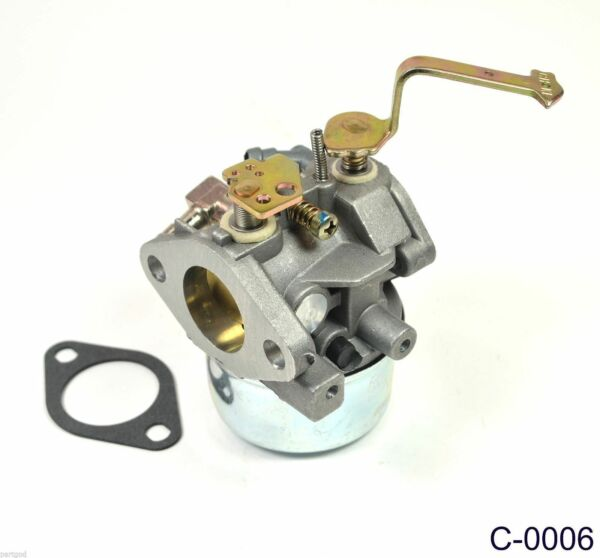 New CARBURETOR Carb for Tecumseh 640152A HM80 HM100 Snow Blower Thrower Tiller A