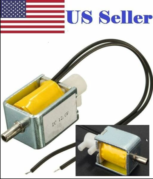 DC 12.0V 2-Position 3-Way Mini Electric Control Solenoid Valve for Gas Air Pump