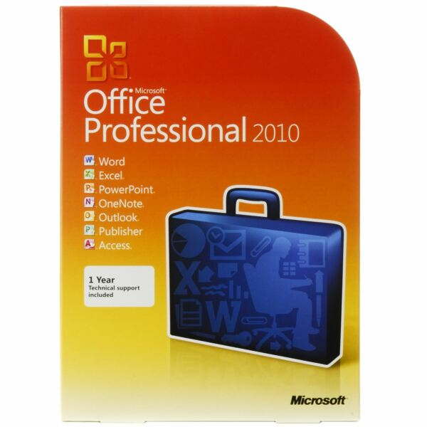 MICROSOFT OFFICE 2010 PROFESSIONAL 32/64 BIT ESD - ORIGINALE FATTURABILE