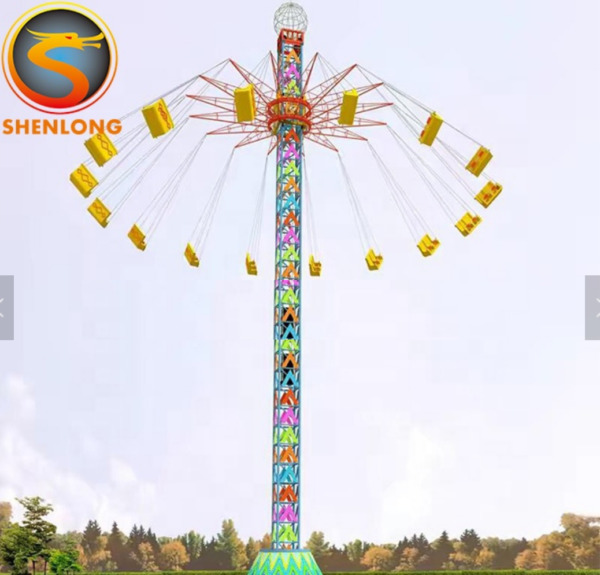 16 Person Amusment Theme Park Rides Carnival Rotation Thrill Roller Coaster Park