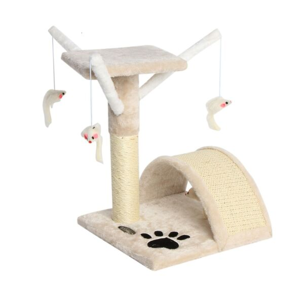 17'' Cat Tree Scratching Condo Furniture Scratch Post Pet Play Toy House