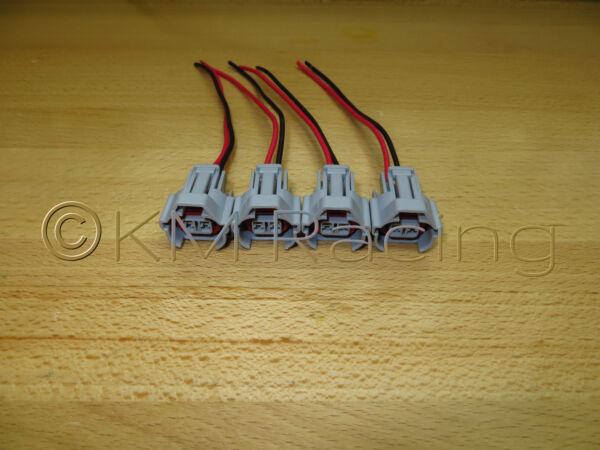 4x ID2000 amp; FIC 2150cc Fuel Injector Connector Quick Disconnect Pigtails $18.00