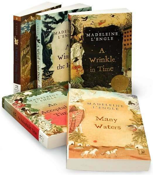 Wrinkle In Time Box Set A Wind In the Door+ by Madeleine L'Engle (Paperback)
