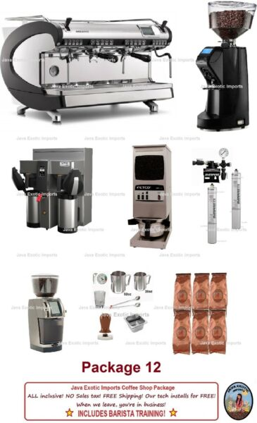 Simonelli Aurelia Espresso Machine Coffee Package + Training + Installation!
