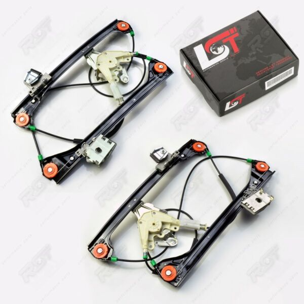 2x Electric Window Regulator Set Front Left Right for BMW 3ER E46 Cabrio Coupe