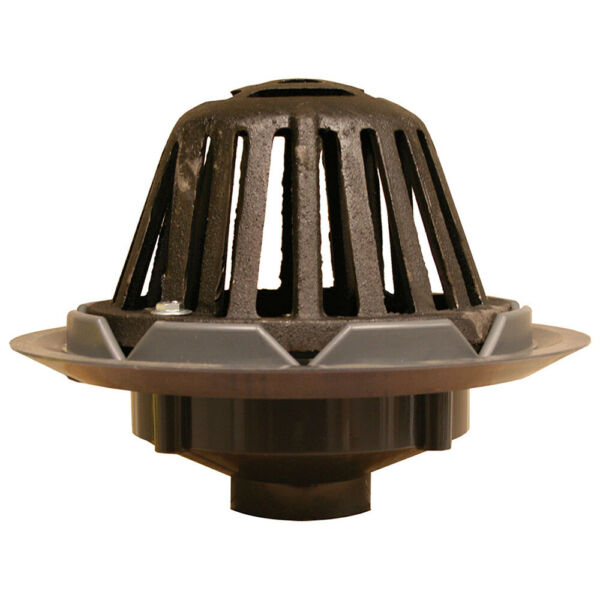 3quot; Roof Drain with Cast Iron Dome PVCPartNo R18005 JonesStephens $56.00