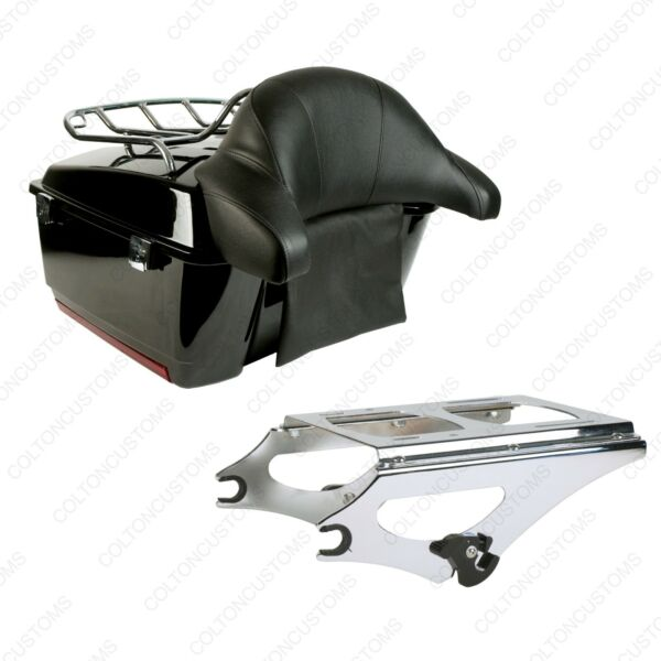 King Tour Pak Pack Trunk for 2009 2019 Harley Davidson Touring Combo Bundle $489.95