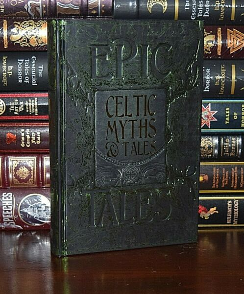 NEW Celtic Myths Tales Legends Irish Folklore Collectible Deluxe Hardcover Gift