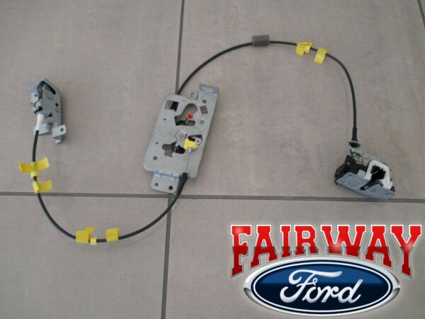 04 thru 08 F-150 OEM Ford Rear Side Door Latch & Cable Extended Cab LEFT DRIVER