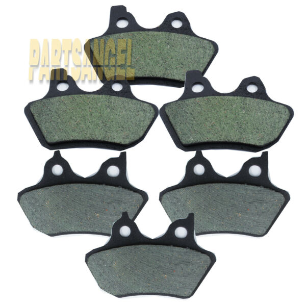 Front Rear Carbon Brake Pads For Harley FLHTCUi Electra Glide Classic 2000 2007 $23.84