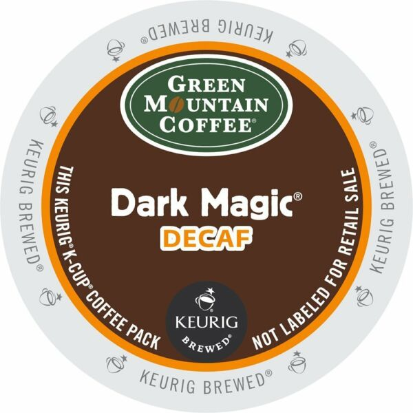 Green Mountain Dark Magic DECAF Bold Coffee K-Cups For Keurig Brewers - 96 Count