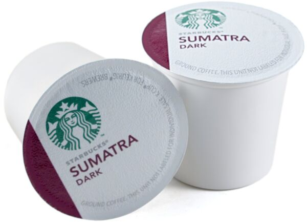 Starbucks Sumatra Dark Roast Coffee Keurig K-Cups 160 Count