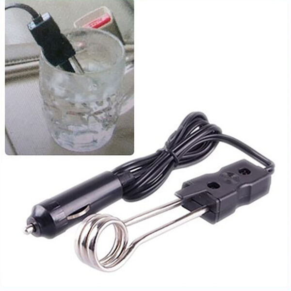 Hot Sale Portable 12V Car Immersion Heater Auto Electric Tea Coffee Water Heater