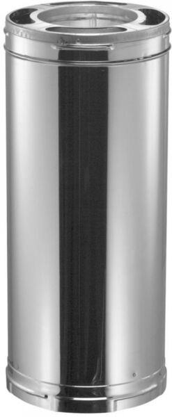 6 in. Dia 36 in. Triple Wall Chimney Pipe Wood Stove Fireplace Wind Turbine Vent