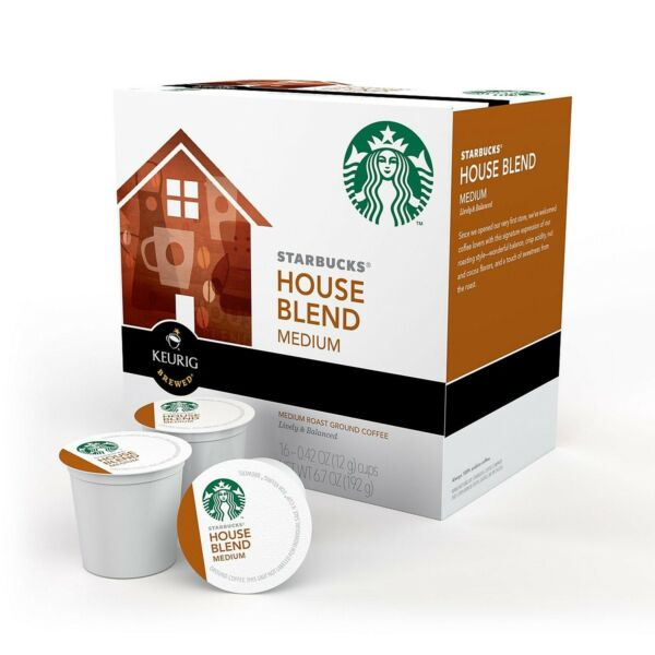 Starbucks House Blend Coffee K-Cups (96 count)