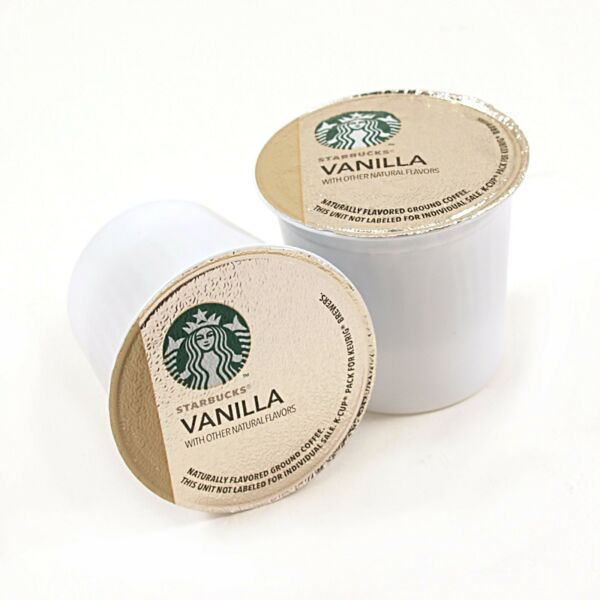 Starbucks Vanilla Coffee Keurig K-Cups 96 Count