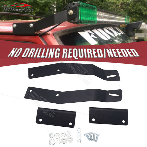 No Drilling Need 50quot;inch Light bar Roof Mount Bracket Fit Jeep Cherokee XJ 84 01 $22.95
