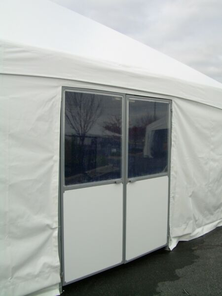 Tent double doors Commercial Frame Party Tent awning - George Maser