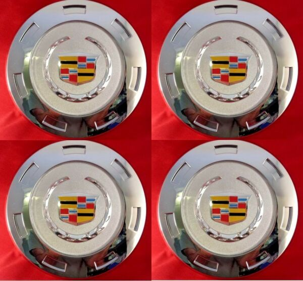 4pcs. 2007-2014 CADILLAC ESCALADE COLORED CREST 22