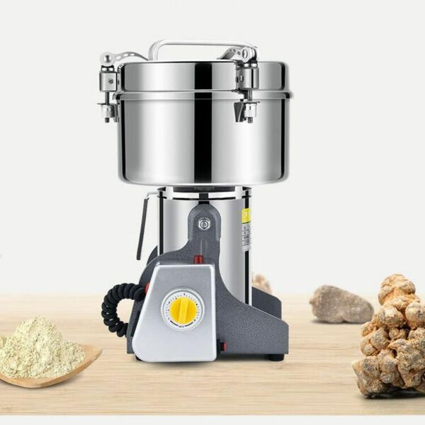 220V 2500g Electric Home Herb Grinder Coffee Beans Grain Milling Powder Machine