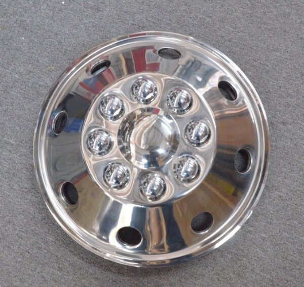 STAINLESS STEEL FRONT WHEEL COVER 16
