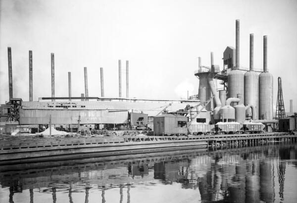1900 1920 Central Furnace Works Cleveland Old Photo 13quot; x 19quot; Reprint $18.68