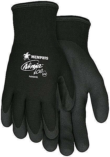 Memphis N9690 Ninja Ice Insulated Cold Weather Industrial Work Gloves S-XXL