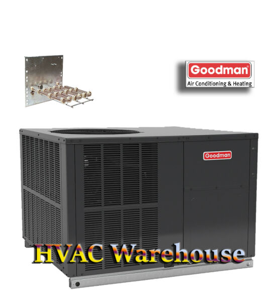 4 Ton 14 SEER Goodman Heat Pump Package Unit GPH1448M41 Mulitposition