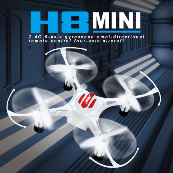 White 4CH UAV Multicopter RC Quadcopter RC Drone UFO FPV RC Helicopter Gyro Mini