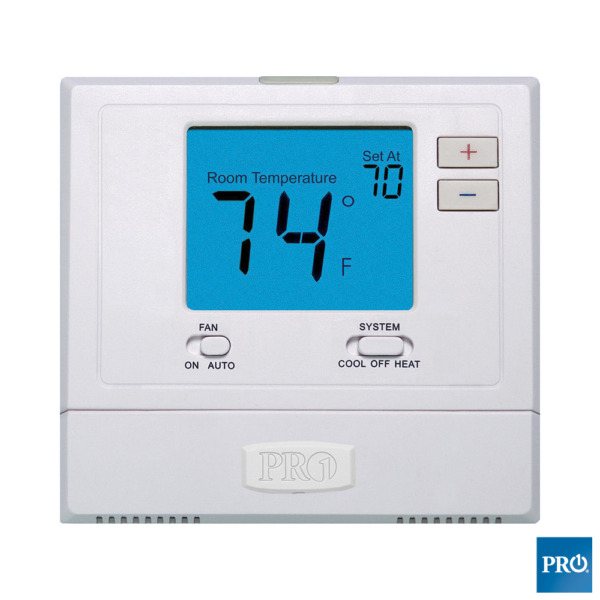 Pro1IAQ T701 1H1C Non- Programmable Digital Thermostat