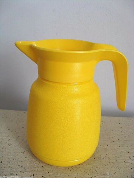 80s LITTLE TIKES PLAY KITCHEN COFFEE POT CARAFE WATER YELLOW PITCHER REPLACEMENT