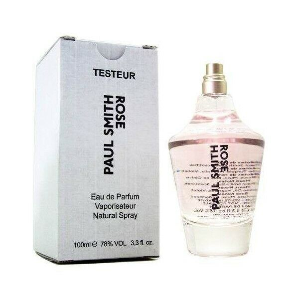 PAUL SMITH ROSE FOR WOMEN-EDP-SPRAY-3.3 OZ-100 ML-AUTHENTIC TESTER-FRANCE