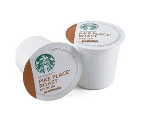 Starbucks Decaf Pike Place Roast K Cups 96 Count by CAJ International (Starb...