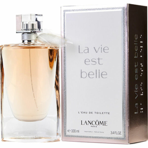 La Vie Est Belle by Lancome L'eau de Toilette Spray 3.4 oz for Women NIB Sealed