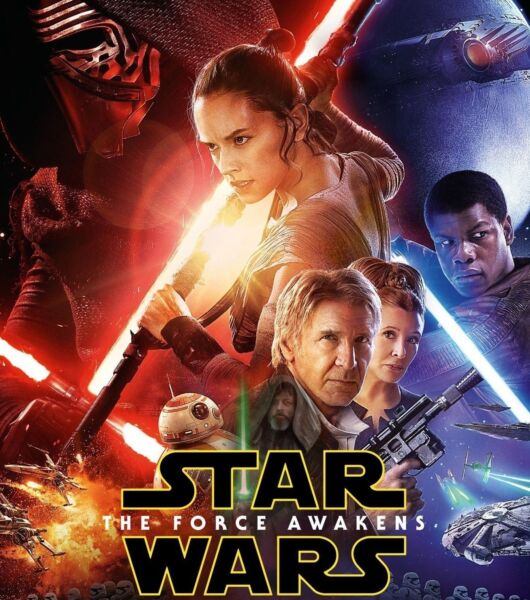 Star Wars: The Force Awakens DVD NEW
