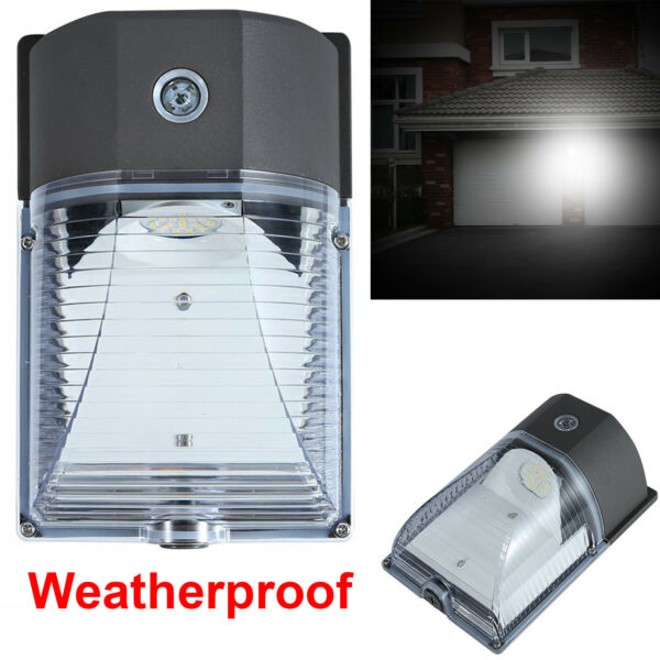 Outdoor LED Wall Mount Yard Security Light 26W Lighting Dusk to Dawn Photocell