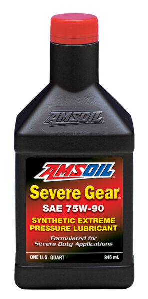 Amsoil Severe Gear SAE 75W - 90 Qt - 3 Shipping Options to Save You Money !