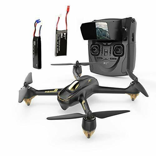 Hubsan H501S X4 FPV Drone Quadcopter 1080P Follow Me Brushless GPS +2 Batteries