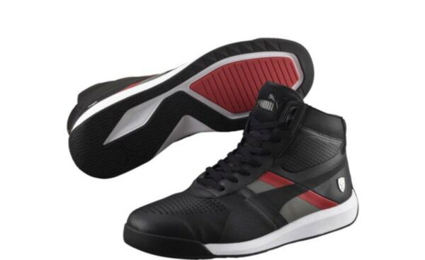 NWT Puma Ferrari Podio Mid Men High Tops Sneaks Shoes Fashion Size 11.5